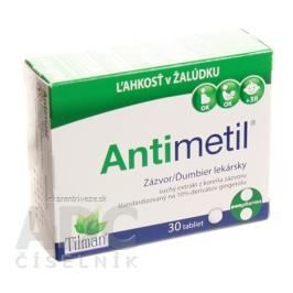 Antimetil tbl 1x30 ks