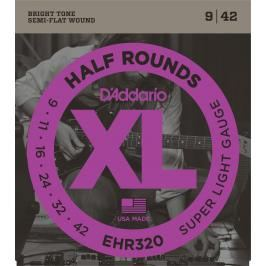 D'Addario EHR 320 Half Round Super Light