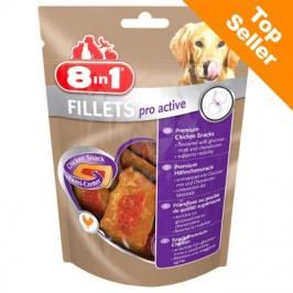 8in1 Fillets Pro Active 80 g - S
