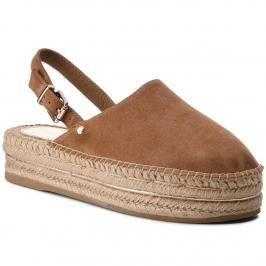 Espadrilky TOMMY HILFIGER - Elevated Flatform Slip On FW0FW02643 Summer Cognac 929