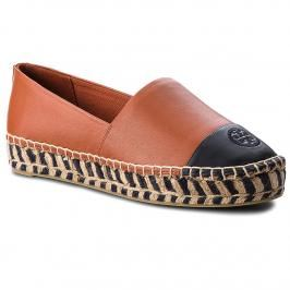Espadrilky TORY BURCH - Color Block Platform 48533 Desert Spice/Perfect Navy 218
